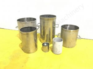 Various Cylindrical Cheese Moulds