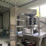 10-Station Multi-Head Weigher with Bucket Elevator Conveyor